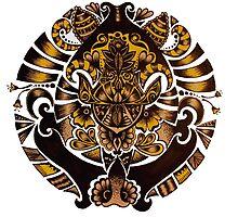 Golden Pendant  by jaimeeannd