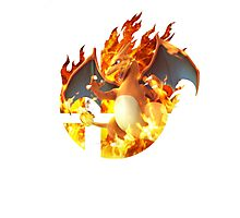 Smash Charizard Photographic Print