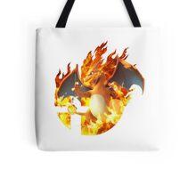 Smash Charizard Tote Bag