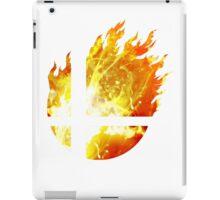 Super Smash Bros. Logo - Fire iPad Case/Skin
