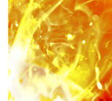 Super Smash Bros. Logo - Fire Sticker