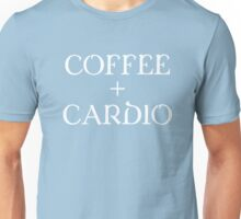 Coffee Plus Cardio Cute Exercise T-Shirt Unisex T-Shirt