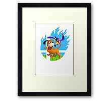 Smash Duck Hunt! Framed Print