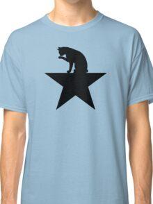 Hamilcat Black Cat Design for Alexander Hamilton fans Classic T-Shirt