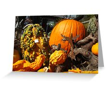 Knobby Pumpkins Greeting Card