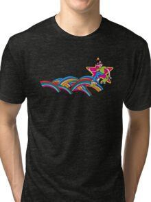 SKATEBOARDING KID Tri-blend T-Shirt