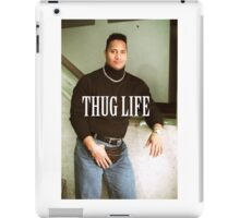 Throwback - Dwayne Johnson iPad Case/Skin