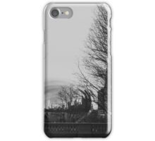 The Chicago Bean Captured in Black and White iPhone Case/Skin