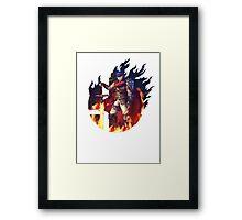 Smash Ike Framed Print