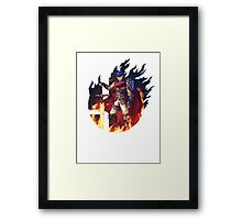 Smash Ike Framed Print