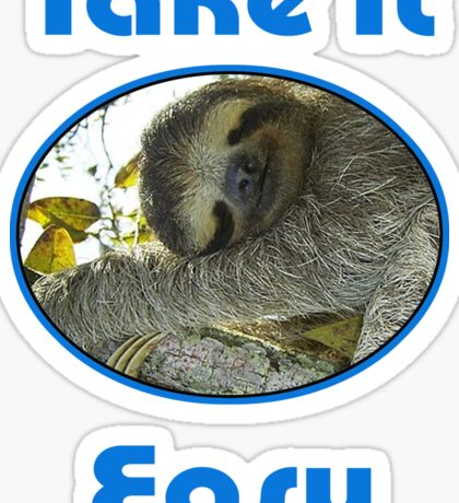 Funny Sloth Sticker