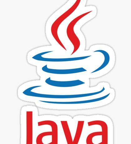 java programming language Sticker