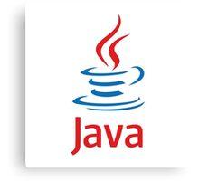 java programming language Canvas Print