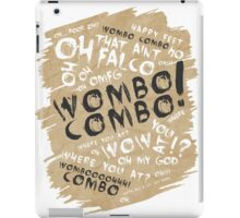 WOMBO COMBO!!! iPad Case/Skin