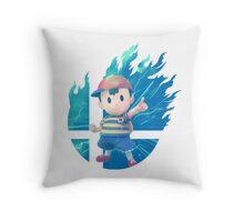 Smash Ness Throw Pillow