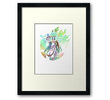 Smash Palutena Framed Print