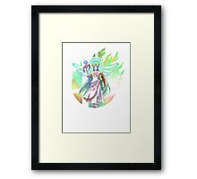 Smash Palutena Framed Print