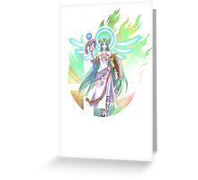 Smash Palutena Greeting Card