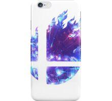 Super Smash Bros. Logo - Blue iPhone Case/Skin