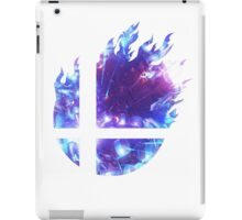 Super Smash Bros. Logo - Blue iPad Case/Skin