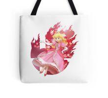 Smash Peach Tote Bag