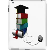 The books x-mas iPad Case/Skin