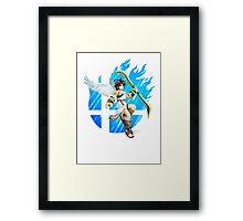 Smash Pit Framed Print