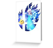 Smash Rosalina Greeting Card
