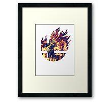 Smash Captain Falcon (Brawl) Framed Print