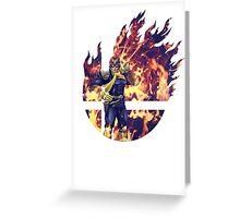 Smash Captain Falcon (Brawl) Greeting Card
