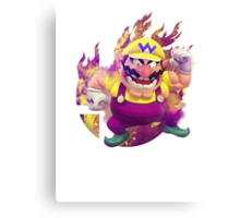 Smash Wario Canvas Print