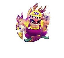 Smash Wario Photographic Print