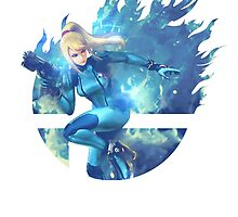 Smash Zero Suit Samus by Jp-3