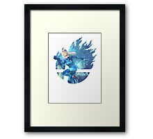 Smash Zero Suit Samus Framed Print