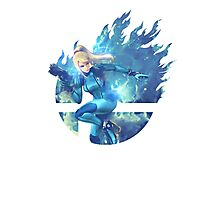 Smash Zero Suit Samus Photographic Print