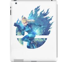 Smash Zero Suit Samus iPad Case/Skin