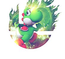 Smash Yoshi by Jp-3
