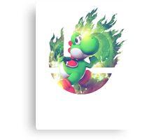 Smash Yoshi Canvas Print