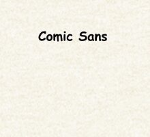 Comic Sans Zipped Hoodie