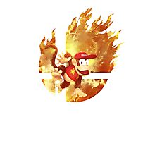 Smash Diddy Kong Photographic Print