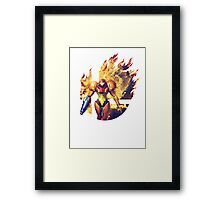Smash Samus Framed Print