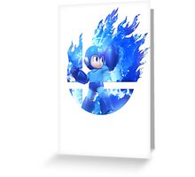 Smash Megaman Greeting Card