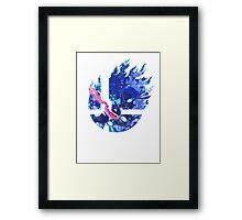 Smash Greninja Framed Print