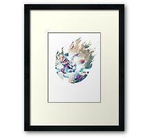 Smash Fox Framed Print