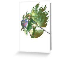 Smash Link Greeting Card