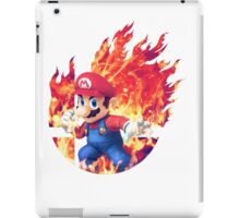 Smash Mario iPad Case/Skin