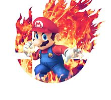 Smash Mario by Jp-3