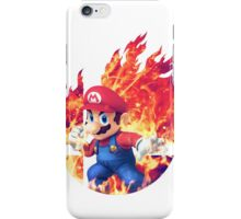 Smash Mario iPhone Case/Skin