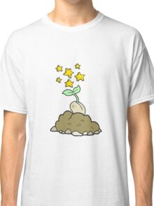 cartoon sprouting seed Classic T-Shirt