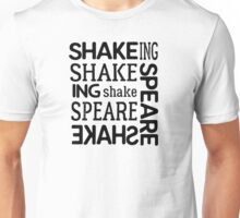 shakespeare typography t shirts Unisex T-Shirt